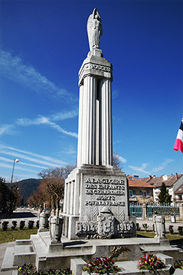 Photo du Monument aux Morts de Gérardmer