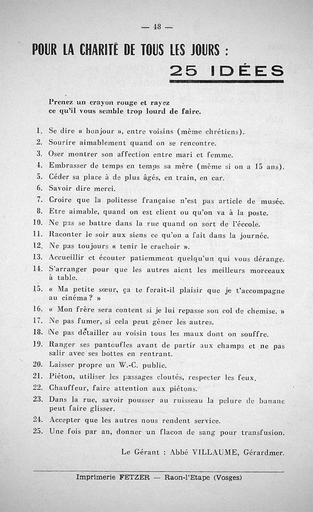 Extrait25Charités_ChroniqueParoissialeGérardmerSeptembre1963