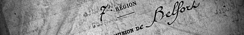 Extrait du Répertoire Registres Matricules Classe 1914